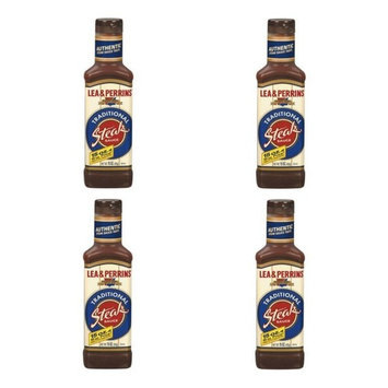 Lea and Perrins Traditional Steak Sauce 15 OZ (PACK OF 4)