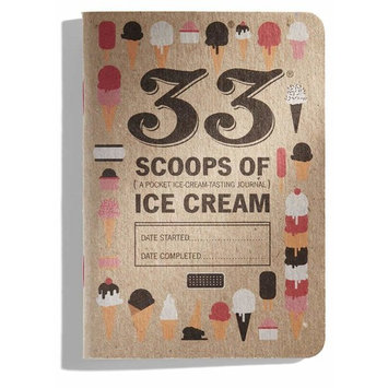 33 Scoops of Ice Cream Journal