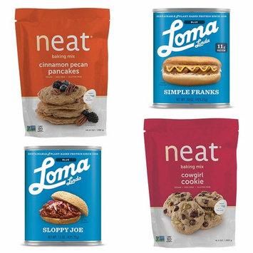 Loma Linda Veggie Kids Neat Favorites - Healthy Alternatives (5.5 - 20 oz.) (Pack of 4)