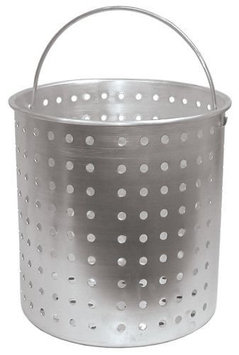 Bayou Classic Aluminum Perforated Basket, 60-quart