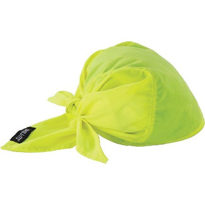 Ergodyne Lime Cool Triangle Hat 12586
