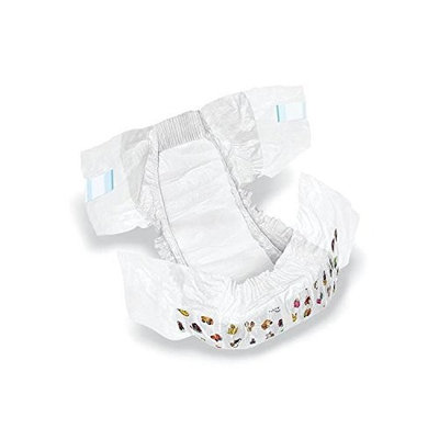 Medline MSC266042 DryTime Disposable Baby Diapers, Size 2, 6-14 lb, White (Pack of 224)