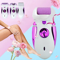 LUCKSTAR Women Shave Wool Device - 4-IN-1 Lady Hair Removal Shaver Women Epilator Remover Women's Electric Razor Body Hair Trimmer Shave Wool Device Lady's Shaver Female Care (Purple)