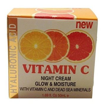 Hyaluronic Acid Vitamin C Glow & Moisture Night Cream, 1.69 fl. oz.