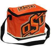 Forever Collectibles Oklahoma State Cowboys Zippered Insulated Lunch Bag - Orange