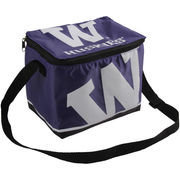 Forever Collectibles Washington Huskies Zippered Insulated Lunch Bag - Purple
