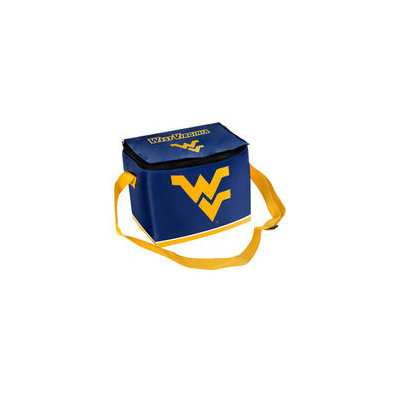 Forever Collectibles NCAA Zipper Lunch Bag - West Virginia University Mountaineers
