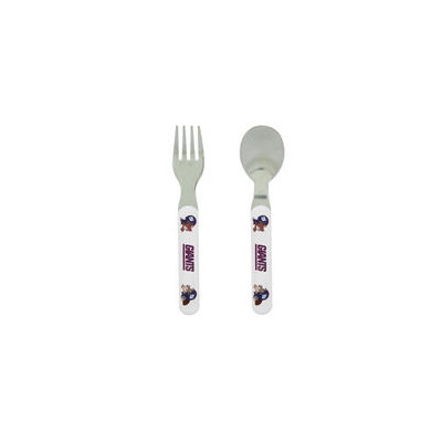 Baby Fantactics New York Giants Baby Fanatic Fork and Spoon Set