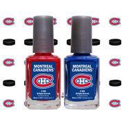 Montreal Canadiens 2-Pack Nail Polish with Nail Decal