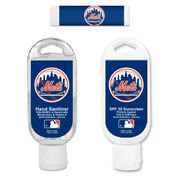 New York Mets Hand Sanitizer, Sunscreen & Lip Balm Game Day Pack