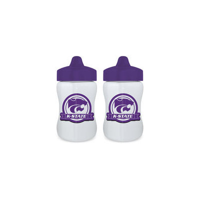 Baby Fanatic - NCAA 2-Pack Sippy Cup Set, Kansas State Wildcats