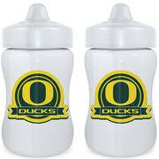Baby Fanatic - NCAA 2-Pack Sippy Cup Set, Oregon Ducks
