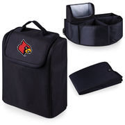Picnic Time 715-00-179-304-0 University of Louisville Digital Print Trunk Boss in Black with Cooler