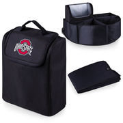 Picnic Time 715-00-179-444-0 Ohio State University Digital Print Trunk Boss in Black with Cooler