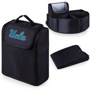 Picnic Time 715-00-179-084-0 UCLA Digital Print Trunk Boss in Black with Cooler