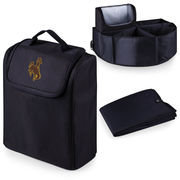Picnic Time 715-00-179-694-0 University of Wyoming Digital Print Trunk Boss in Black with Cooler