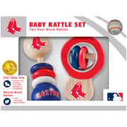 Masterpieces Puzzle Company MLB Boston Red Sox Rattle Set