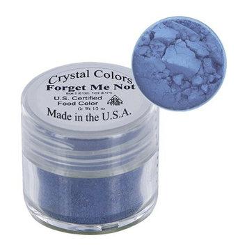 Sugarpaste Crystal Color Powder Food Coloring One Jar of 2.75 Grams - Forget-Me-Not
