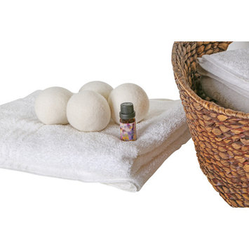 Woolite Wool Dryer Ball 4pack with Fresh linen essential oil