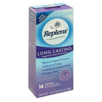 Replens Long Lasting Vaginal Feminine Moisturizer, 35 g (Pack of 2) 14 Applications and One reusable applicator by Replens