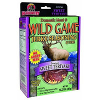 Hi-Country Snack Foods Domestic Meat and WILD GAME 14.23 oz. Sweet Teriyaki Home Jerky Spice Kit-No MSG