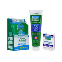 SmartMouth Original Travel Packs, Dry Mouth Mints and Premium Toothpaste