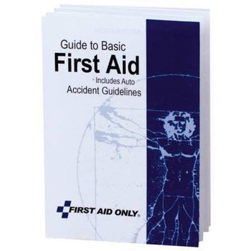 FIRST AID ONLY BK021 First Aid Guide