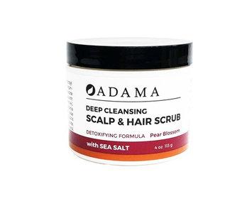 Adama Minerals Deep Cleansing Hair Scrub Pear Blossom Zion Health 4 oz Scrub
