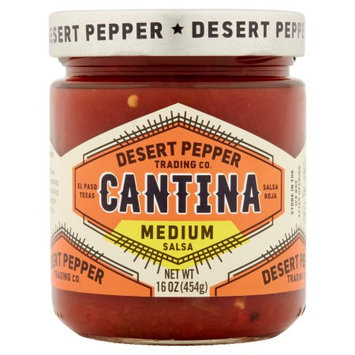 Desert Pepper Trading Company Desert Pepper, Salsa Cantina Medium Red, 16 Oz (Pack Of 6)