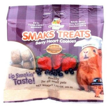 American Per Diners 315 Smaks Treats Berry Heart 1.75oz