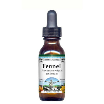 Fennel Seed - Glycerite Liquid Extract (1:5) - Mint Flavored (1 fl oz, ZIN: 428305)