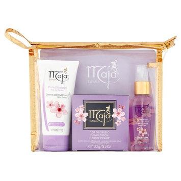 Maja Plum Blossom Hand Cream, Luxury Perfumed Soap and Fragrance Mist Mini Set