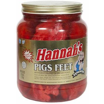 Hannah's Pickled Pigs Feet 1/2 Gallon