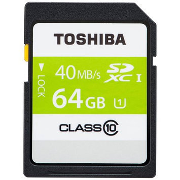 Toshiba 64GB Secure Digital Extended Capacity (SDXC)