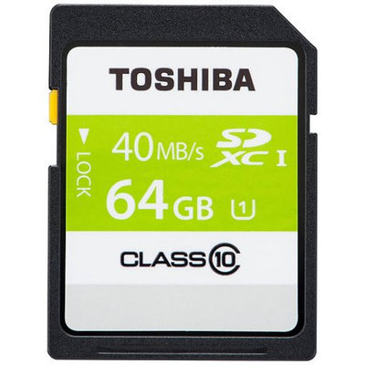 Toshiba 64GB Secure Digital Extended Capacity (SDXC)