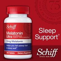 Schiff Melatonin Ultra. 365 Tablets.