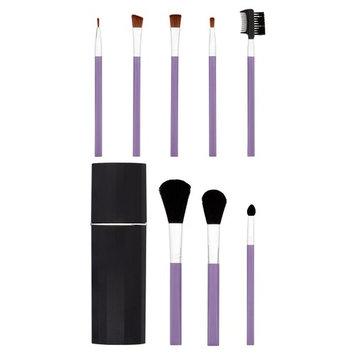 Purple Make Up Brush Set, 9 pc