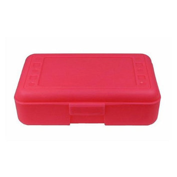Romanoff Products, Inc. Romanoff Products ROM60207BN 8.5 x 5.5 x 2.5 in. Pencil Box Hot Pink - 12 Each