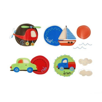 Sumersault Tiny Trips Wall Decal