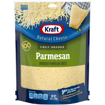 Kraft Parmesan Finely Shredded Natural Cheese