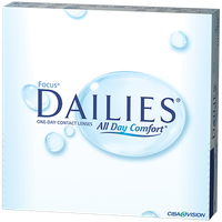 FOCUS DAILIES 90 Pack Contact Lenses