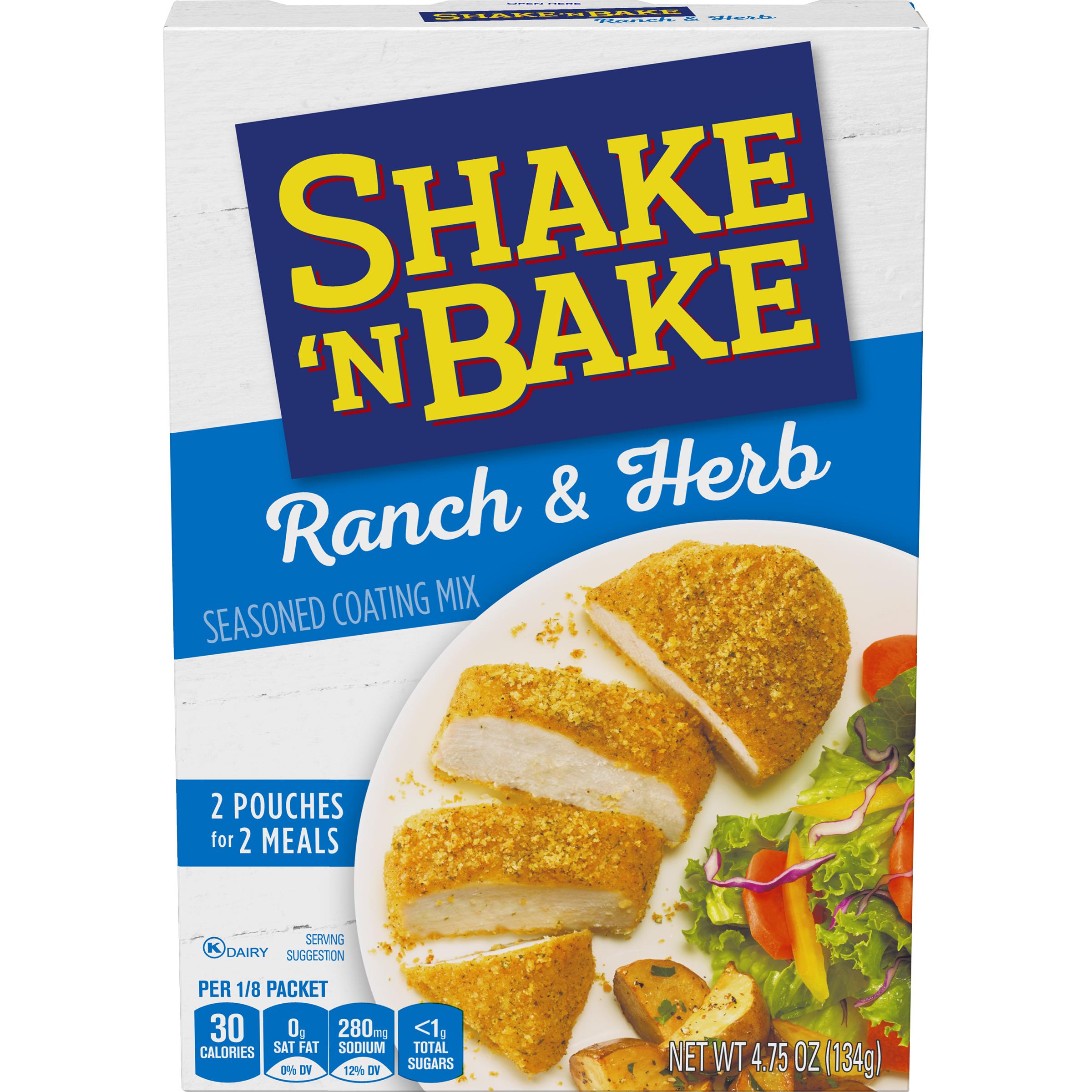 Shake 'N Bake Ranch & Herb Seasoned Coating Mix