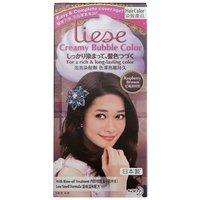 Kao - Liese Creamy Bubble Hair Color (Raspberry Brown) 1 set