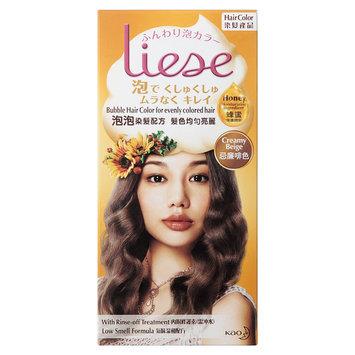Kao - Liese Bubble Hair Color (Creamy Beige) 1 set