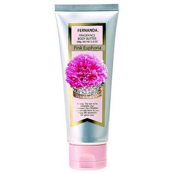 Fernanda - Fragrance Body Butter Pink Euphoria (Fresh Sweet from Juicy Fruits) 100g