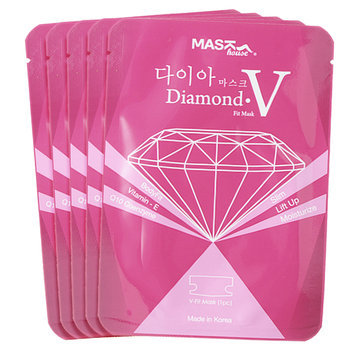 Mask house - Diamond V Fit Mask Refill Pack 5 pcs
