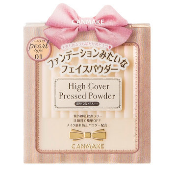 Canmake High Cover Pressed Powder 01 Pearl