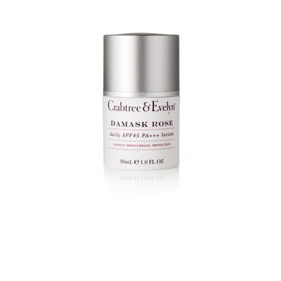 Crabtree & Evelyn - Damask Rose Daily SPF 45 PA+++ 30ml