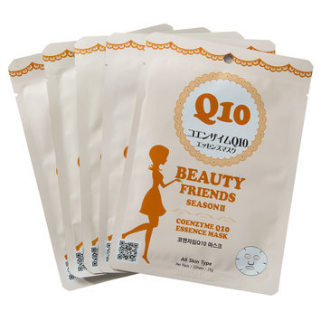 MIMOTO - Beauty Friends Season II Essence Mask (Coenzyme Q10) 5 pcs