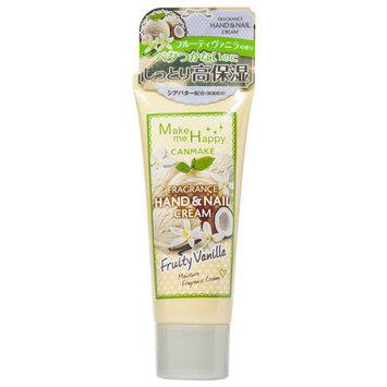 Canmake - Make Me Happy Fragrance Hand & Nail Cream (#Fruity Vanilla) 40g